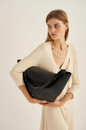 Womens Oroton Tote Bags | Clement Tote Black