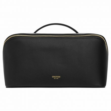 Womens Oroton Travel Bags | Ivy Large Beauty Case Black