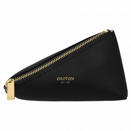 Womens Oroton Travel Bags   Ivy Small Zip Case Black