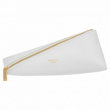 Womens Oroton Travel Bags | Ivy Zip Case Pure White